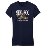 NEW Zoo Japanese Macaque Monkey Art - Women's Fitted T-Shirt