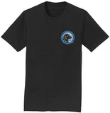 LRC Logo - Left Chest Blue - Adult Unisex T-Shirt
