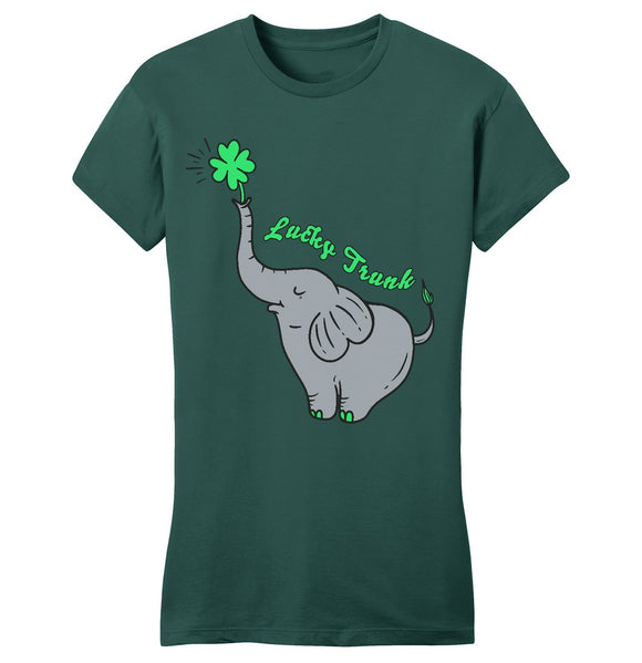 Lucky Trunk - Women's Fitted T-Shirt
