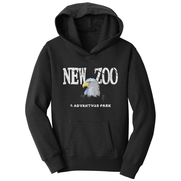 NEW Zoo Bald Eagle Art - Kids' Unisex Hoodie Sweatshirt