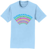 Elephantastic Colors - Adult Unisex T-Shirt