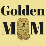 Golden Mom Illustration - Adult Unisex T-Shirt