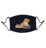 Golden Rescue South Florida Logo - Adult Adjustable Face Mask