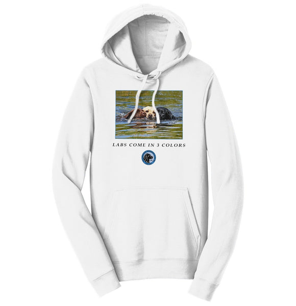 The Labrador Retriever Club - LRC Labs Come in 3 Colors - Adult Unisex Hoodie Sweatshirt