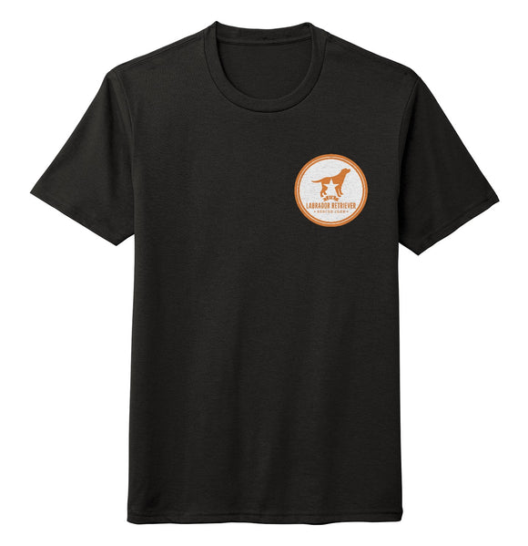 DFWLRRC - Burnt Orange DFWLRR Logo - Adult Tri-Blend T-Shirt