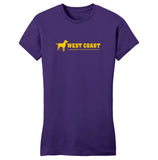 Gold WCLRR Logo - Women's Fitted T-Shirt