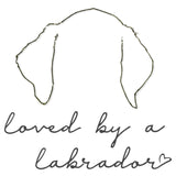 Loved by a Lab Ears - Kids' Unisex T-Shirt