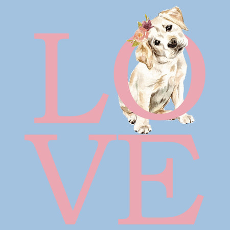 Big Love Lab Puppy - Women's Fitted T-Shirt