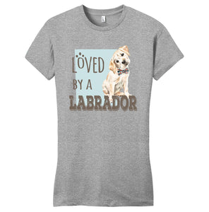 WCLRR - Loved by a Labrador - Women's Fitted T-Shirt