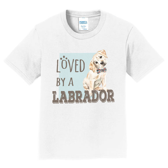 WCLRR - Loved by a Labrador - Kids' Unisex T-Shirt