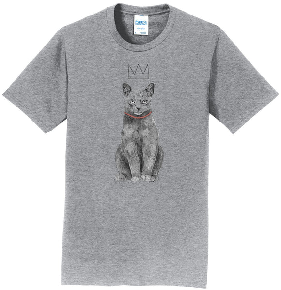 Parker Paws Store - King Of Everything Cat - Adult Unisex T-Shirt