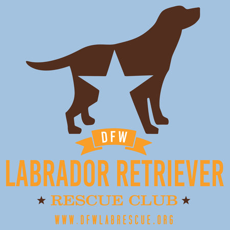 DFW Lab Rescue Logo - Women's Fitted T-Shirt
