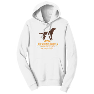 DFW Lab Rescue Logo - Adult Unisex Hoodie Sweatshirt