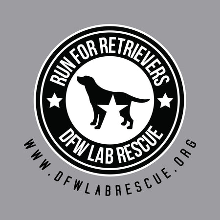 DFW Lab Rescue Run For Retrievers Left Chest - Adult Unisex Hoodie Sweatshirt