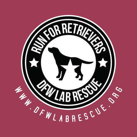 DFW Lab Rescue Run For Retrievers Left Chest - Adult Unisex T-Shirt