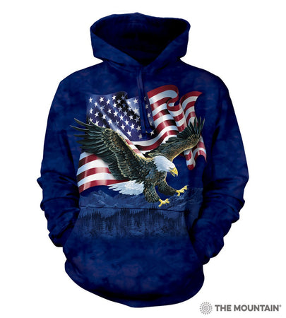NEW Zoo & Adventure Park - Eagle Talon Flag - Hoodie Sweatshirt - Online Shop