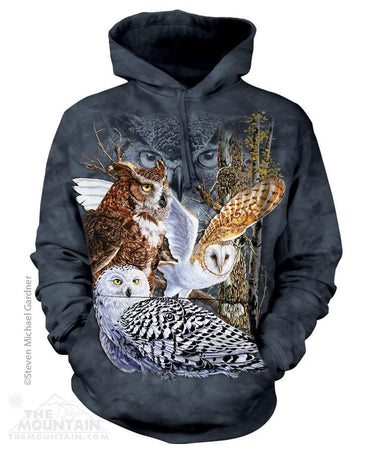 NEW Zoo & Adventure Park - Find 11 Owls - Hoodie Sweatshirt - Online Shop