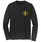 Golden Retriever Rescue of Michigan Logo - Left Chest - Adult Unisex Long Sleeve T-Shirt