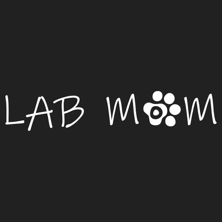 Lab Mom - Women's V-Neck Long Sleeve T-Shirt