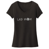 WCLRR - Lab Mom - Women's V-Neck T-Shirt
