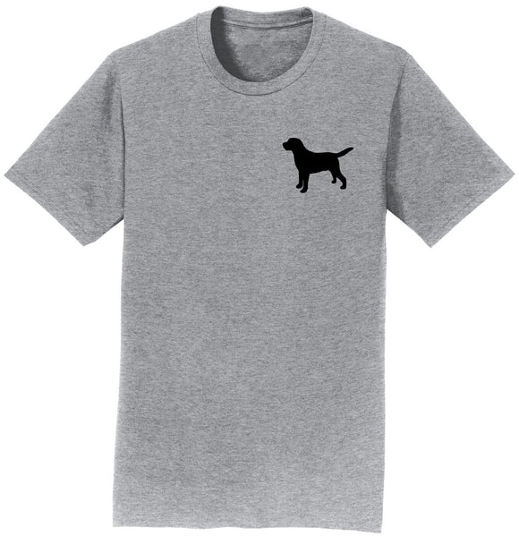 WCLRR - Labrador Silhouette Small - Adult Unisex T-Shirt