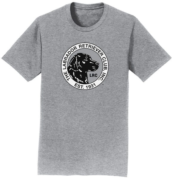LRC Logo - Full Front Black & White - Adult Unisex T-Shirt
