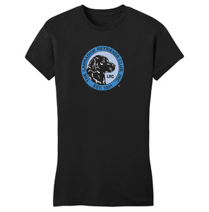 LRC Logo - Full Front Blue - Women's Fitted T-Shirt