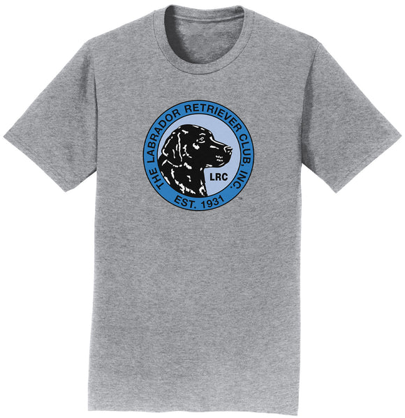 LRC Logo - Full Front Blue - Adult Unisex T-Shirt