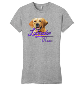 WCLRR - Labrador Mom - Women's Fitted T-Shirt