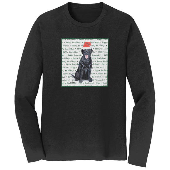 WCLRR - Black Lab Howlidays - Adult Unisex Long Sleeve T-Shirt