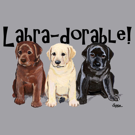 Labra-dorable Three Puppies - Kids' Unisex Hoodie Sweatshirt