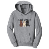 WCLRR - Labra-dorable Three Puppies - Kids' Unisex Hoodie Sweatshirt