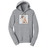 WCLRR - Yellow Lab Love Text - Adult Unisex Hoodie Sweatshirt