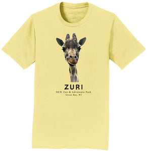 Zuri The Giraffe Yellow T-Shirt