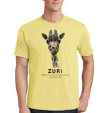 Zuri the Giraffe Tee - Model - NEW Zoo & Adventure Park