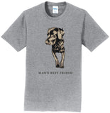 Man's Best Friend - Adult Unisex T-Shirt