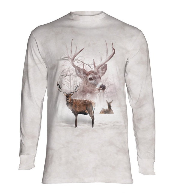 NEW Zoo & Adventure Park - Wintertime Deer - Long Sleeve T-Shirt - Online Shop