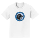 The Labrador Retriever Club - LRC Logo - Full Front Blue - Kids' Unisex T-Shirt
