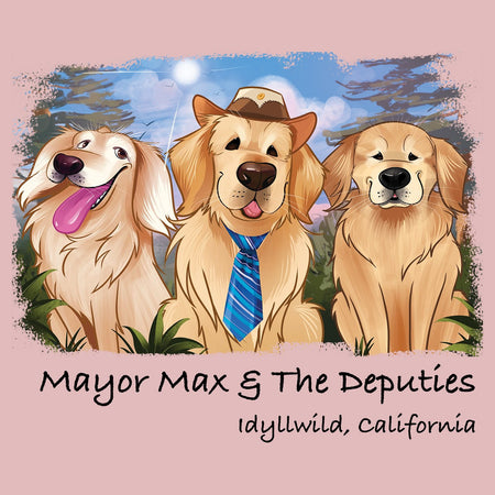 Mayor Max and Deputies - Women's Fitted T-Shirt