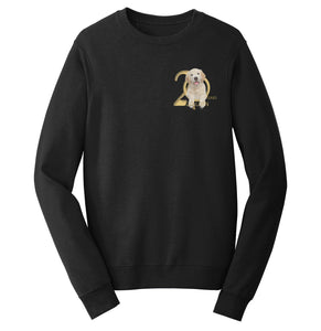 Gold Ribbon Rescue - 20 Years - Left Chest Logo - Crewneck Sweatshirt