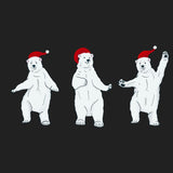 Dancing Polar Bears - Adult Adjustable Face Mask