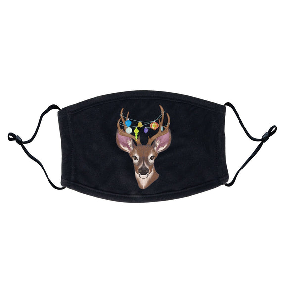 Christmas Buck - Adult Adjustable Face Mask