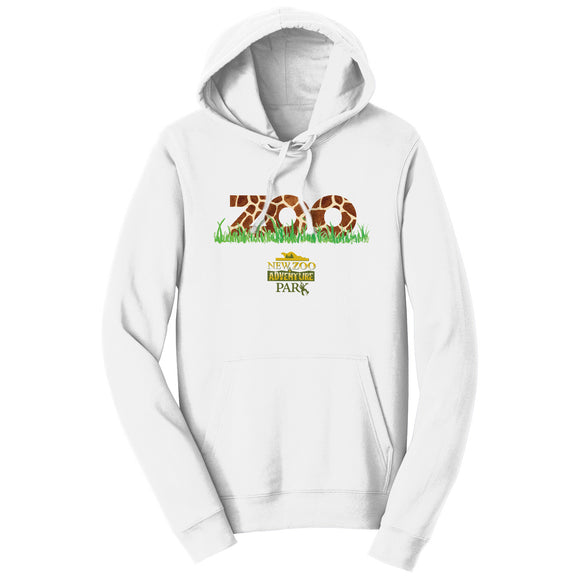 NEW Zoo - Zoo Giraffe Pattern - Adult Unisex Hoodie Sweatshirt