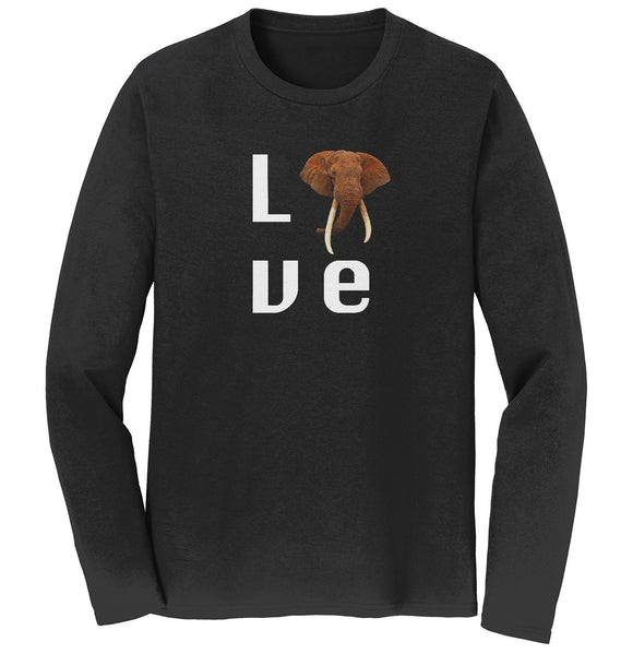 Elephant Love - Long Sleeve T-Shirt | International Elephant Foundation