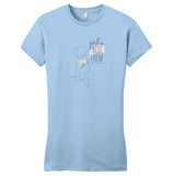 Girl's Best Friend Lab - Women's Fitted T-Shirt