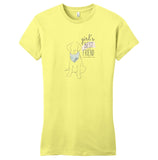 WCLRR - Girl's Best Friend Lab - Women's Fitted T-Shirt