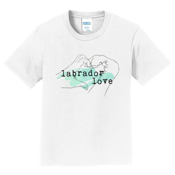 WCLRR - Paw Hand & Heart - Green Accent - Kids' Unisex T-Shirt