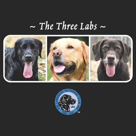 The Three Labs LRC - Adult Unisex T-Shirt