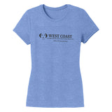 Grey WCLRR Puppy Face Logo - Women's Tri-Blend T-Shirt