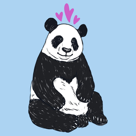 Love Panda - Kids' Unisex T-Shirt